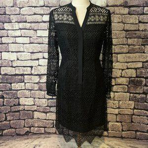Elie Tahari NWT Black Lace Dress Size 6